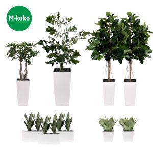 vihersisustuspaketti | M | silkkikasvipaketti | viherviisikkokauppa.fi